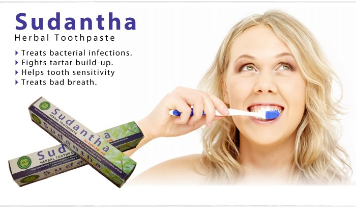 Sudantha Herbal Toothpaste