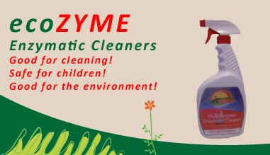 ecoZYME Enzymatic Cleaners